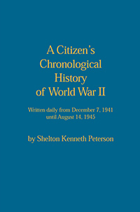 A Citizen's Chronological History of World War II