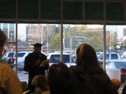 Tomás reading at Barnes & Noble in Hazard Center, San Diego.